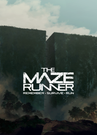 maze runner movie poster