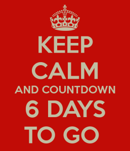coutdown and Keep Calm