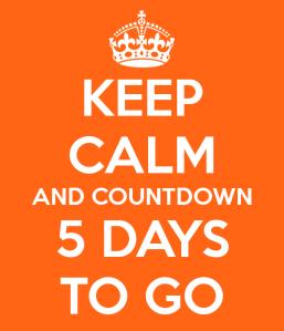 keep calm 5 orange