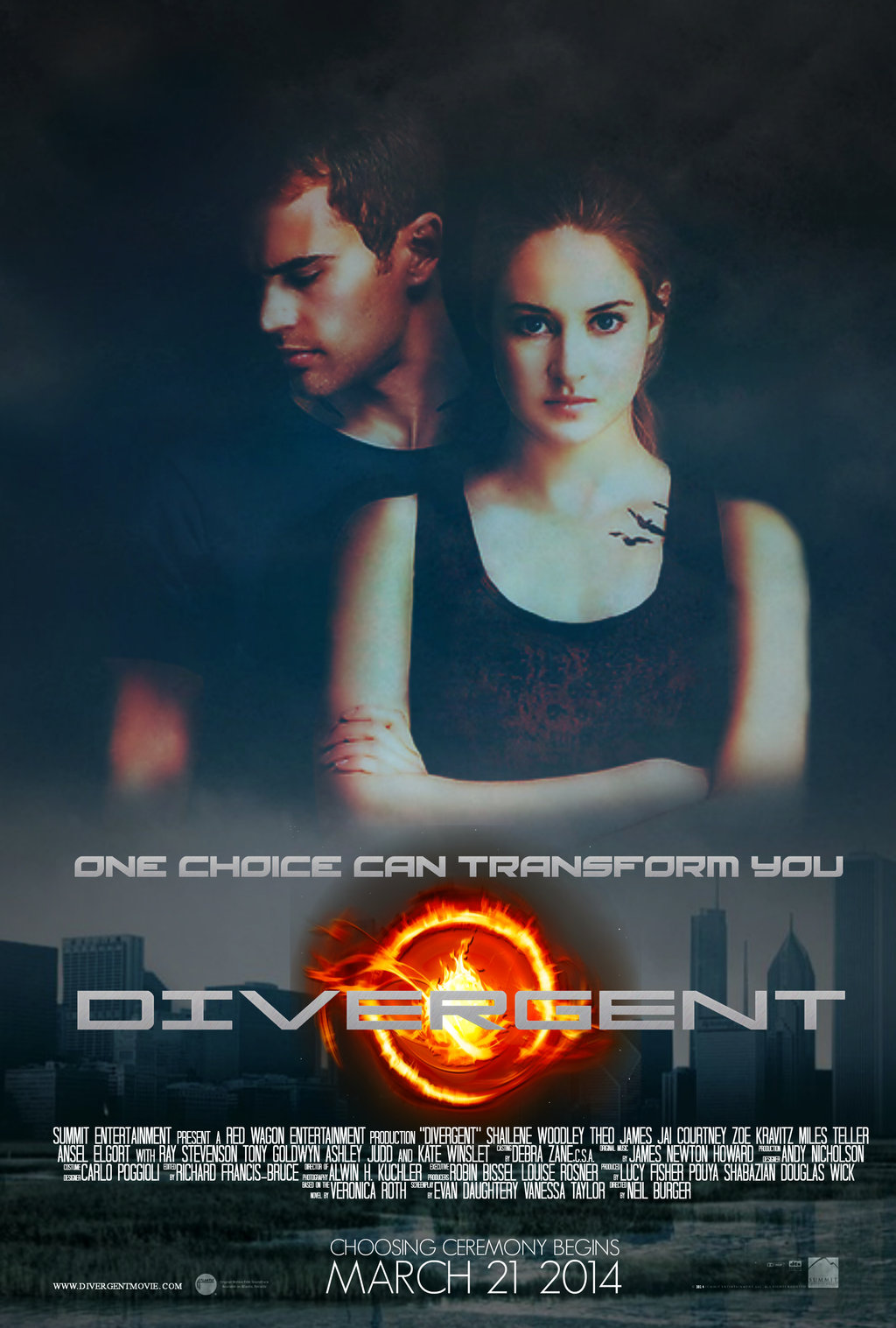 divergent four movie poster - photo #9