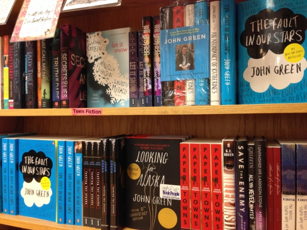 john green shelf