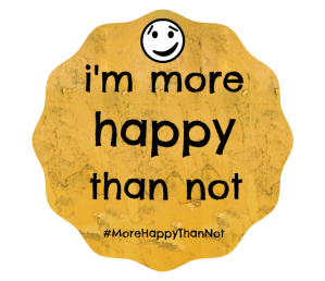 im more happy than not