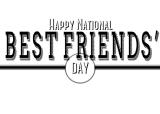 It's National Best Friends Day!