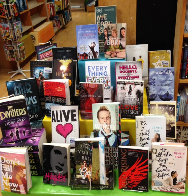 We have some signed stock from our Annual Texas Teen Book Festival!!!