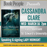 JUST ANNOUNCED! Offsite Event with Cassandra Clare!