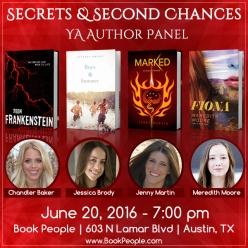 Secrets and Second Chances - Event Graphic