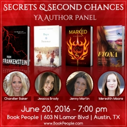 Secrets and Second Chances - Event Graphic